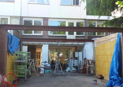 Constructie nieuw dak